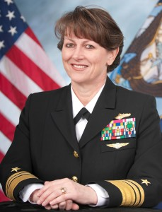 140418-N-IV546-003 WASHINGTON (July 15, 2016) Official photo of Vice Admiral Jan Tighe, Deputy Chief of Naval Operations for Information Warfare/Director of Naval Intelligence. (U.S. Navy photo/Released)